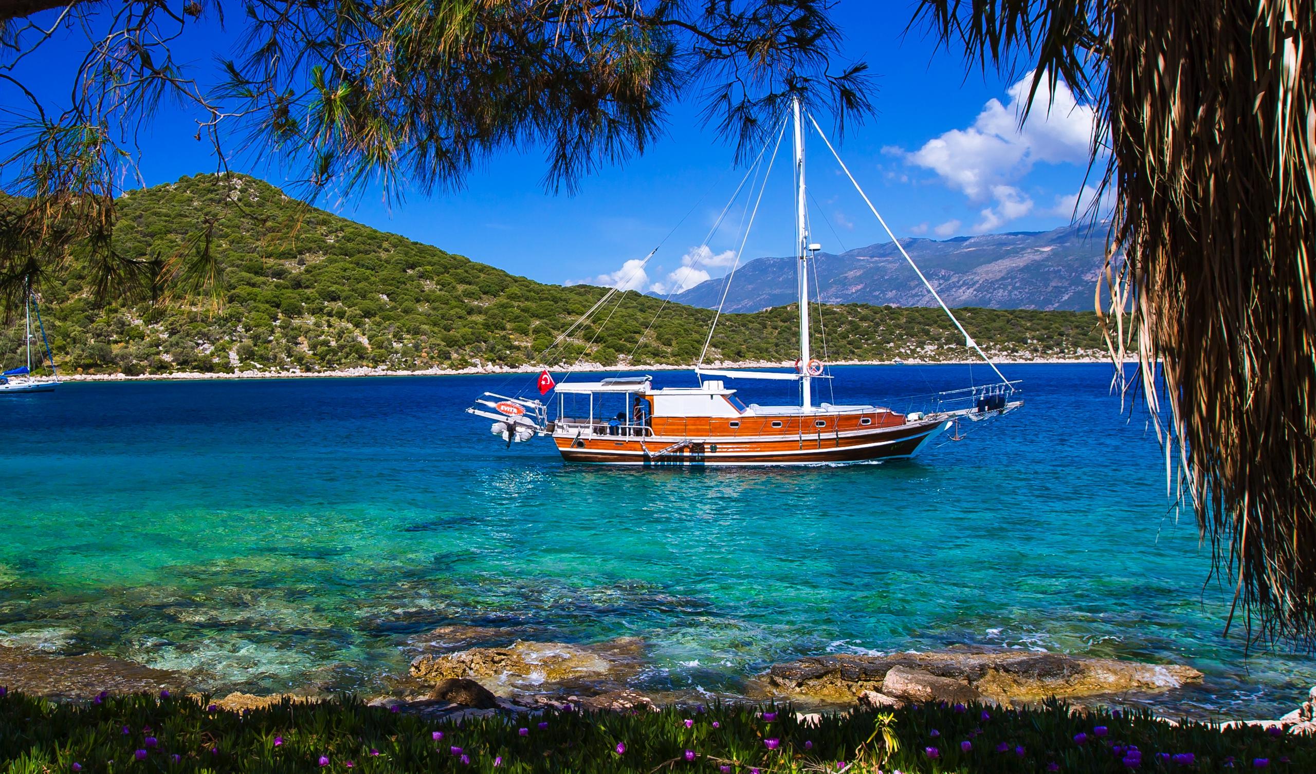 Boat Trips By Captain Ergun in Kas, Kalkan and Kekova  captainergun